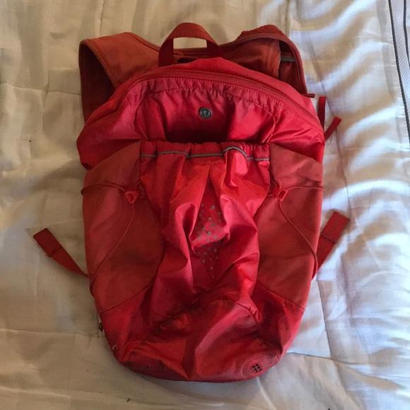 Extremely used lululemon backpack